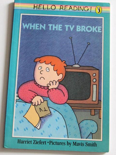 HELLO READING! WHEN THE TV BROKE/Puffin Books/Penguin/fiction/kids book/children