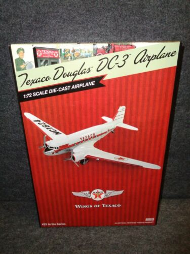 #25 Wings of Texaco 2017 - GOONEY BIRD DOUGLAS DC-3 AIRPLANE REGULAR ED - RARE