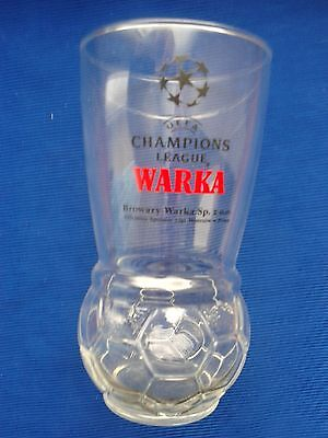POLAND - UEFA Champions League with the eighties - Glass beer Warka - Eighties Glasses