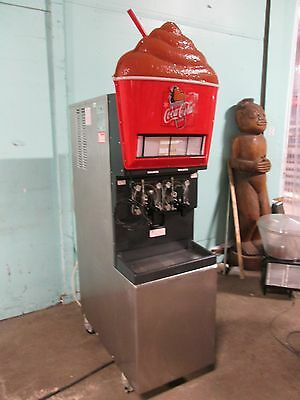Taylor 346-27 Commercial Hd 2 Barrels Carbonated Slushy Machine Lighted Prop