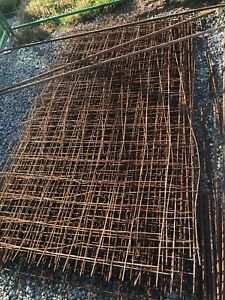 Wire mesh for concrete