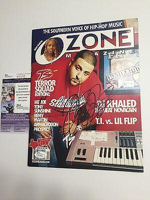 DJ KHALED signed OZONE Magazine 2004 Rap Rapper We The Best JSA