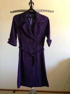 Purple SUMMER COAT size 6-8