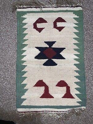 PERSlAN Handmade Hand Woven Knotted Kilim Rug Handmade Wool Gelim Kelim Fine Art