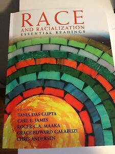 Race and racialization essential readings