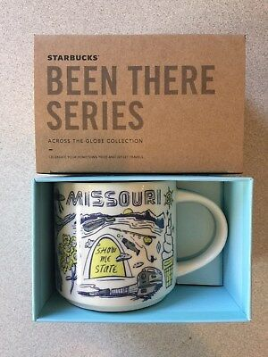 Missouri Starbucks Coffee Mug 14 oz. Been There Series Cup New In Box