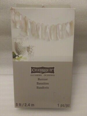 Celebrate It-Special Occasions Lace Banner (Wedding, Prom, Sweet 16, Etc.) 8 Ft  - Celebrate It Occasions