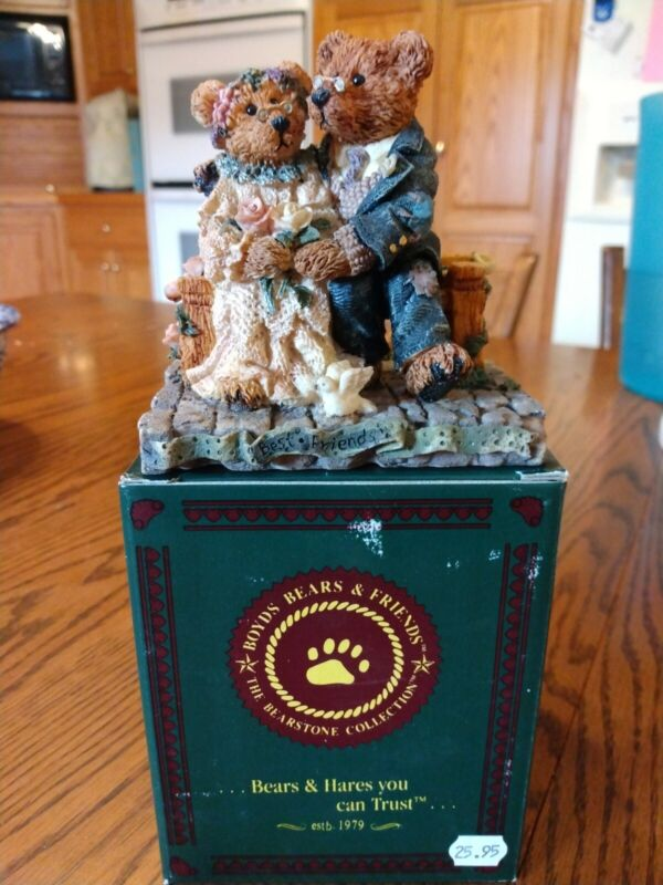 Boyds Bears  Grenville & Beatrice  Best Friends  Style # 2016  Classic Figure