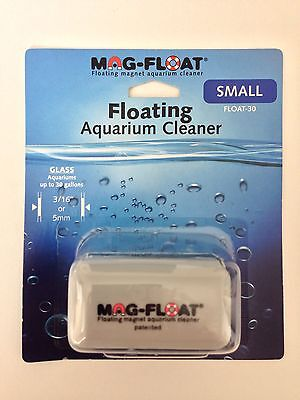 Mag Float 30 Magnetic Floating Aquarium Cleaner for Glass Fish Tanks Size Small Mag Float 30 Magnet