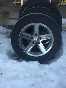 4 Factory 20 inch Dodge Ram rims