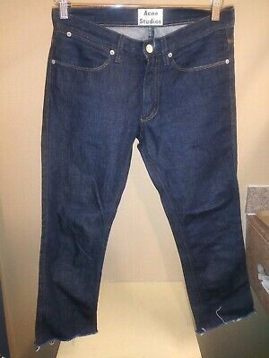 Men's Acne Studios Max Raw Jeans Size 29/32