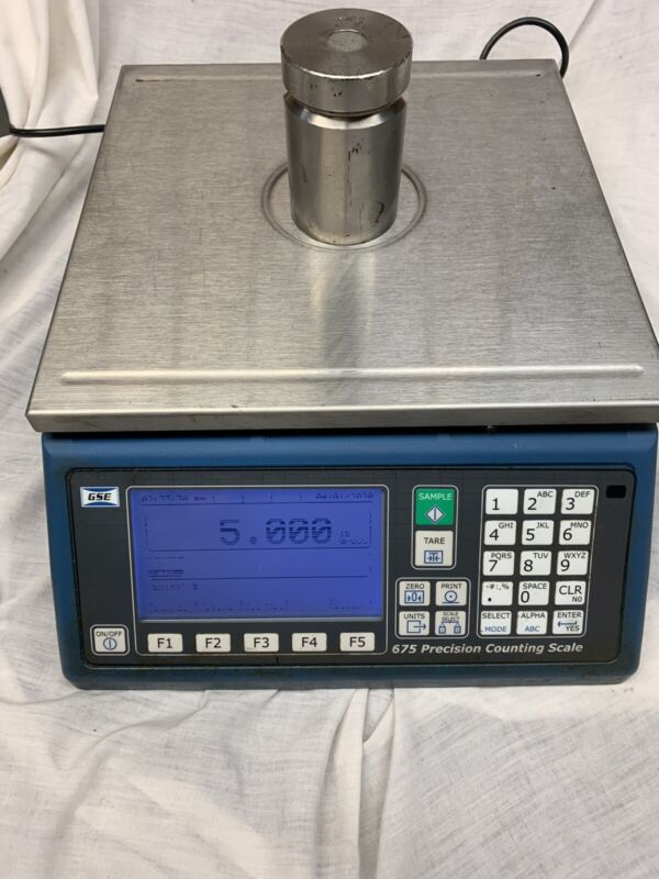 GSE 675 COUNTING SCALE WITH OPTIONS