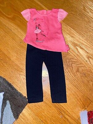 American Girl Doll Isabella Top And Leggings New