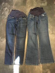 Maternity size 8 skinny and flare