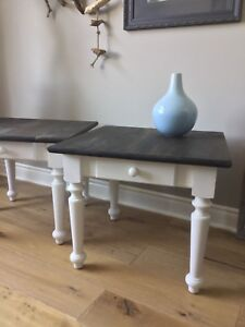 Two Accent Tables / end tables