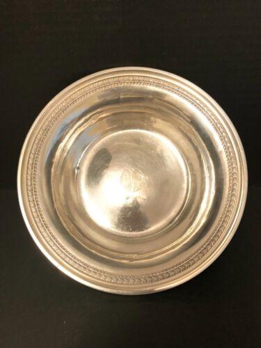 Large Sterling Silver Serving Bowl