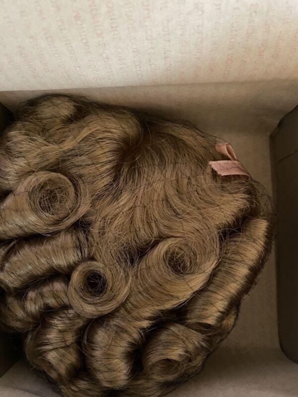 "*Vintage* NIB-Monique Doll Wig ~ Shirley 12""-13"" Blonde"