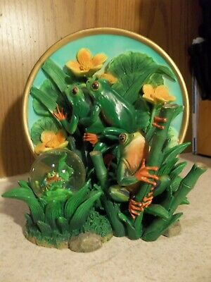 The Tree Frog Endangered Species Plate Collection Cadona 1999 limited edition