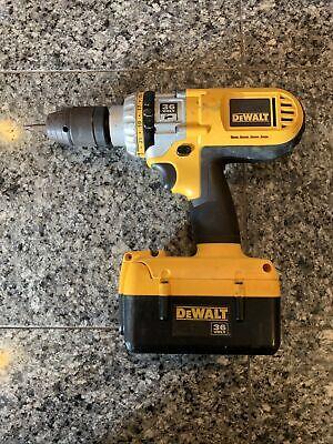 Dewalt Dc900 Hammer Drill 36 Volts Tool Battery