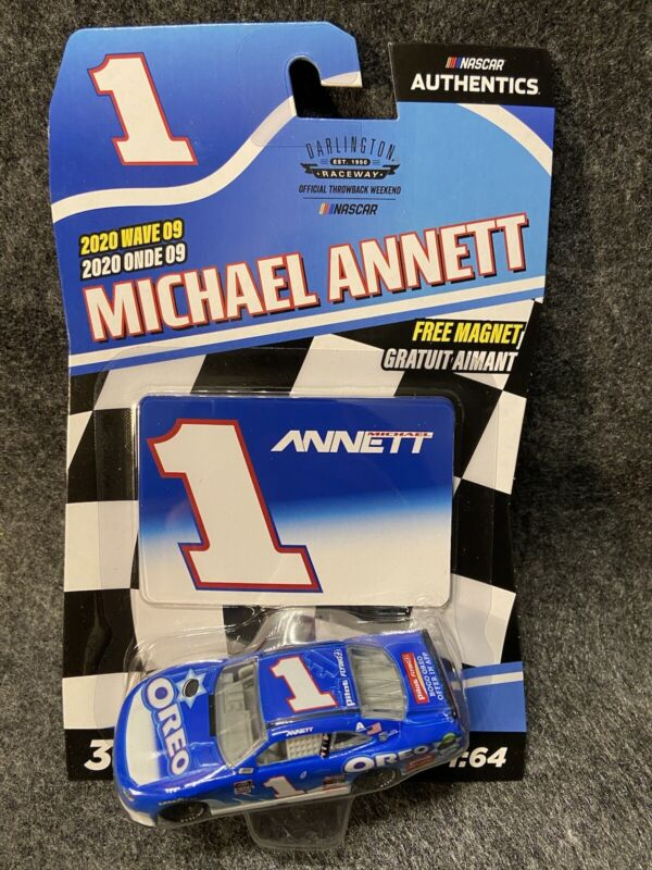 Lionel Racing Michael Annett 2020 Oreo Darlington Throwback 1:24 Nascar Diecast