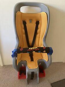 Child bike seat topeak and Topeak bike rack