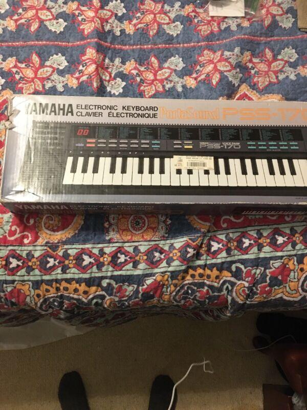 Yamaha Electric Keyboard PSS-170 Empty Box