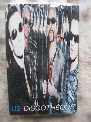 U2 Discotheque CARDBOARD CASE Cassette USA 1997 NEW & SEALED! gebraucht kaufen  Versand nach Germany