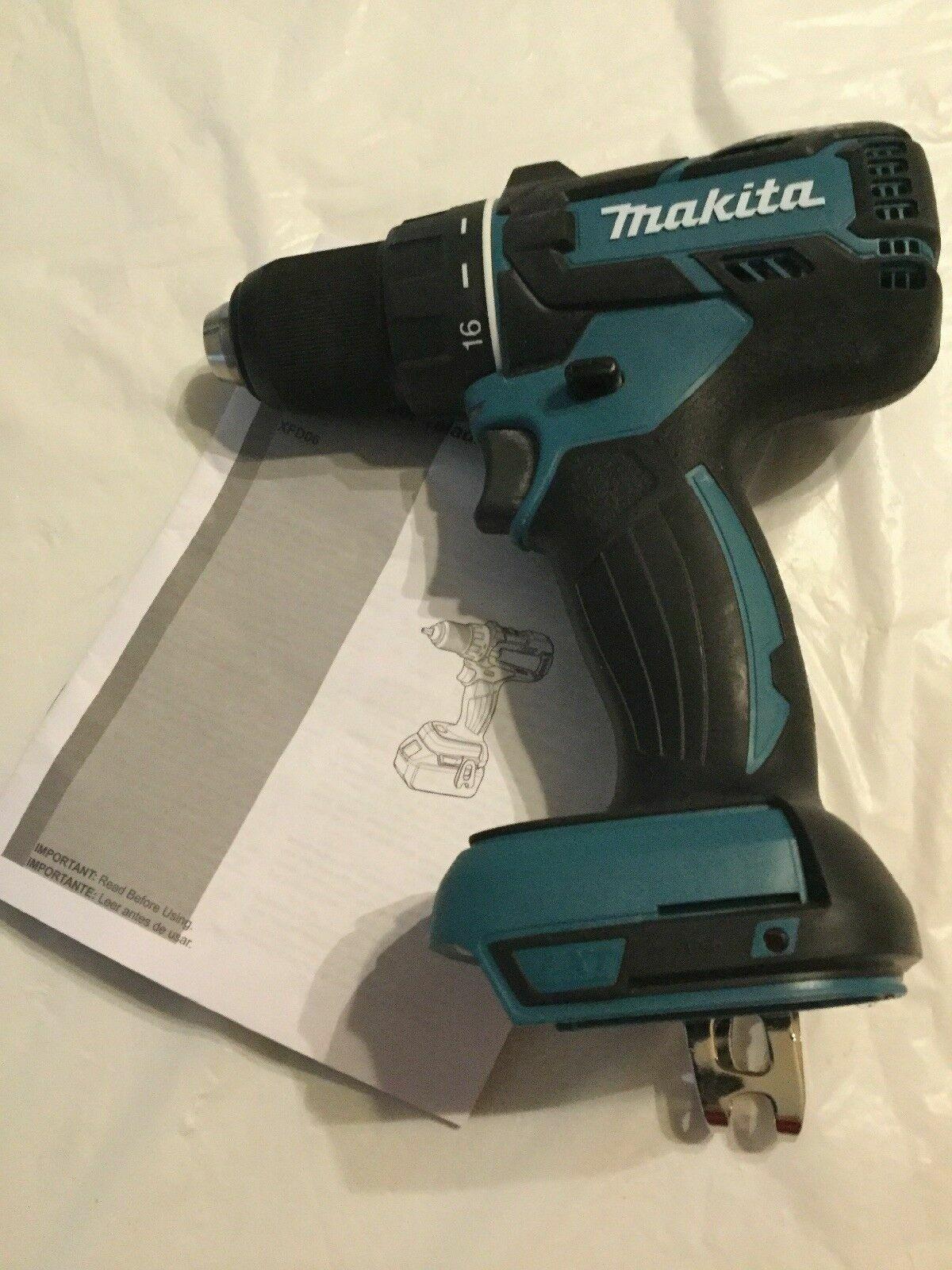 "Makita 18V XFD06 Cordless 1/2"" Battery Brushless Drill Drive"