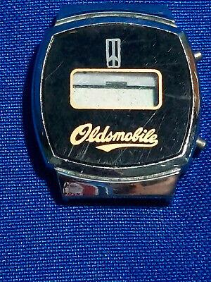 Vintage Advertising Watch 70s-80s Digital Watch Oldsmobile Car Dealership  for sale  Bloomington