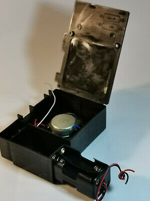 Plastic Electronic Project Box Enclosures With Battery Box 2 Speaker Mic