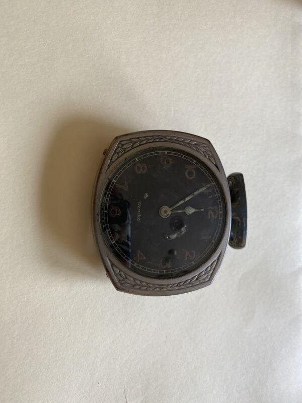 Westclor  Antique Automobile Wind Up Clock