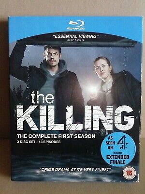 The Killing - The Complete First Season (Blu-ray, 2011, 3-Disc Set) 13 Episodes