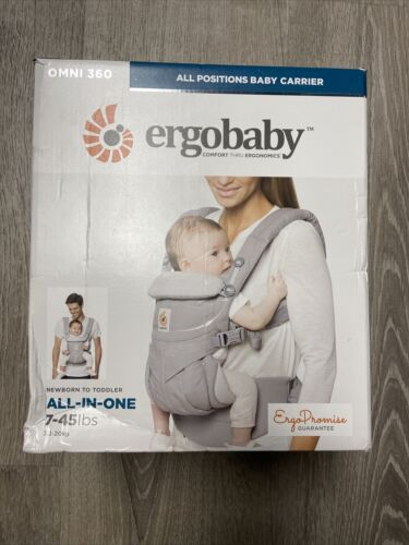 Ergobaby BCS360GRY Omni 360 All-In-One Baby Carrier - Pearl