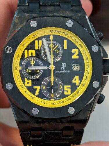 """Audemars Piguet Royal Oak Offshore Automatic Chronograph """"Bumblebee"""" Men's Watch - watch picture 1"""