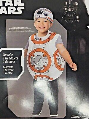 DISNEY STAR WARS BB-8 Droid Toddler Halloween Costume Dress Up (Bb Halloween Costume)
