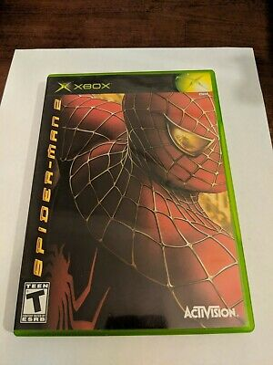 Spider-Man 2 (Microsoft Xbox, 2004) Complete, Tested
