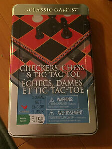 CHECKERS, CHESS, AND TIC TAC TOE GAME