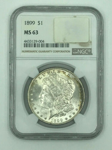 1899 Morgan Silver Dollar NGC MS 63