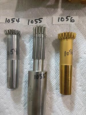 Fellows Spline Shaper Cutter Shank Type Gear Cutter Photos Box Gg