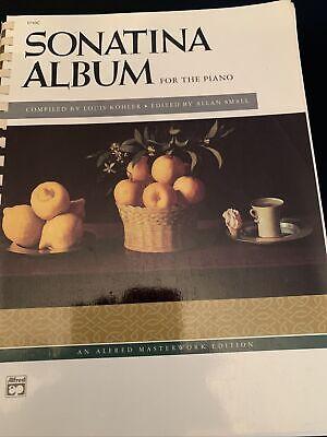 Sonatina Album Piano Solo Sheet Music Alfred NOS 1992