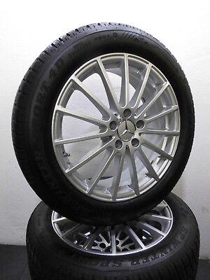 """4 Winterreifen 215 55 R18 Original Mercedes GLA Klasse X156 W156 18"""" Alu. RDK"""