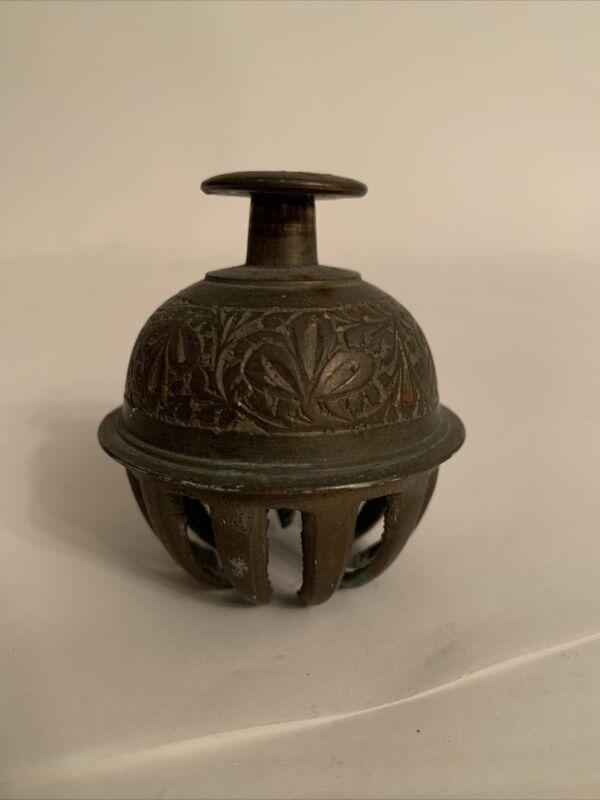 "Antique 2"" Brass Single Sleigh Bell.                    (SB-3)"