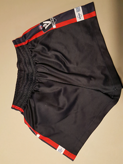 Bairnsdale football shorts navy blue/red