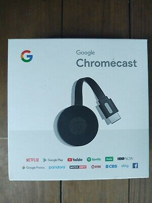 Google Chromecast 2nd Generation - Black (NC2-6A5)