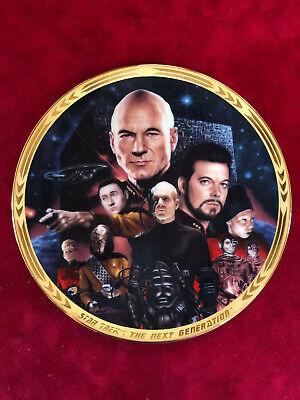 STAR TREK Next Generation - Episodes Collection Plate - Best of Both (Best Star Trek Tng Episodes)