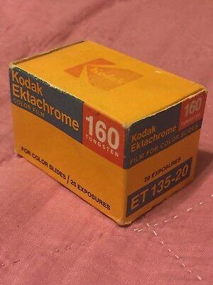 Vintage 1984 Kodak ektachrome (ET 135-20) Tungsten 160; unopened