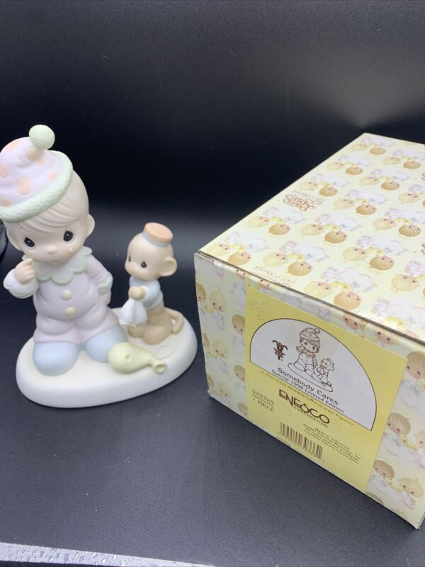 """PRECIOUS MOMENTS 1997 """"522325"""" """"SOMEBODY CARES"""" NEW IN BOX-MINT-EXCELLENT COND."""