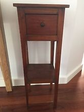 Wood stand with drawer Maroubra Eastern Suburbs Preview