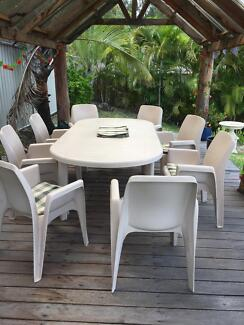Outdoor Furniture  8 Place Part 6