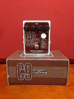 Electro-Harmonix C9 Organ Machine Guitar Effects Pedal Free Expedited Shipping!